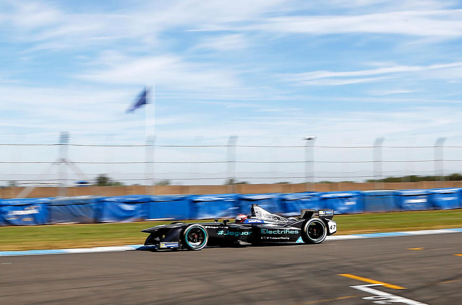 Jaguar in Formula E: behind the scenes