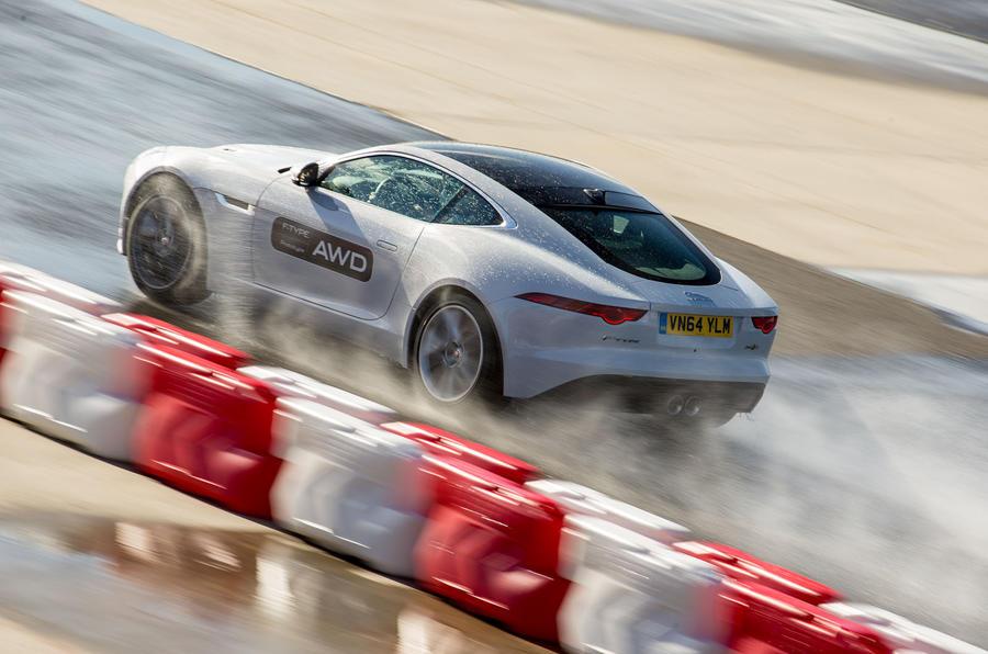 Jaguar F-Type R Coupé rear