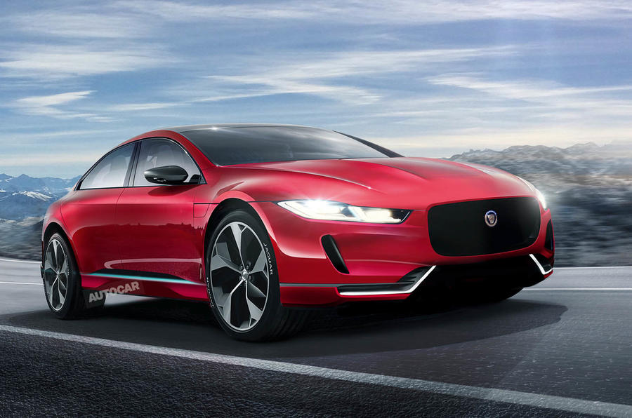 2019 Jaguar Xj To Be Reborn As High Tech Electric Flagship Autocar