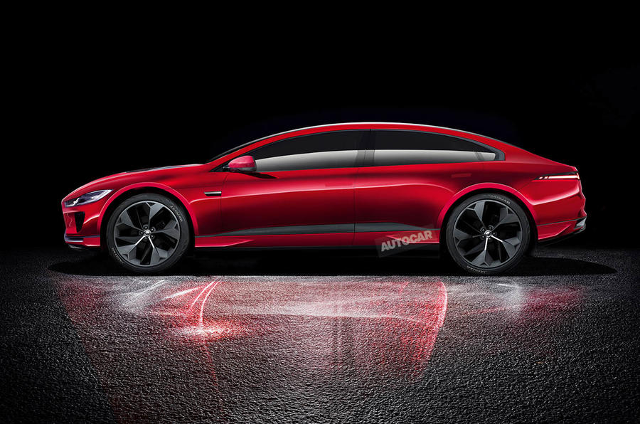 2019 Jaguar Xj To Be Reborn As High Tech Electric Flagship Autocar