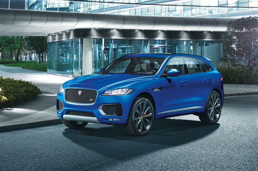 2016 jaguar f pace revealed full pictures and details for Interieur jaguar f pace