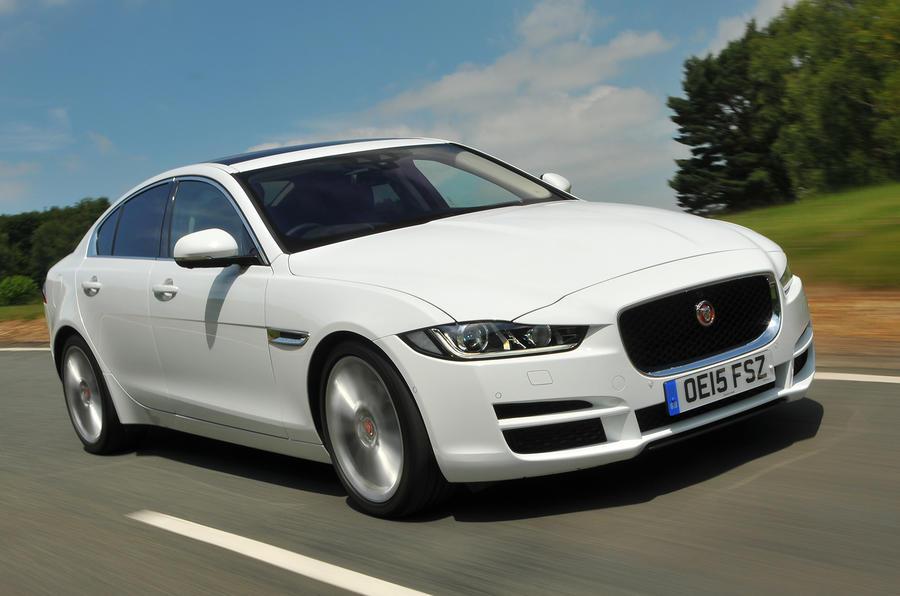 2015 jaguar xe 180 portfolio uk review review autocar. Black Bedroom Furniture Sets. Home Design Ideas