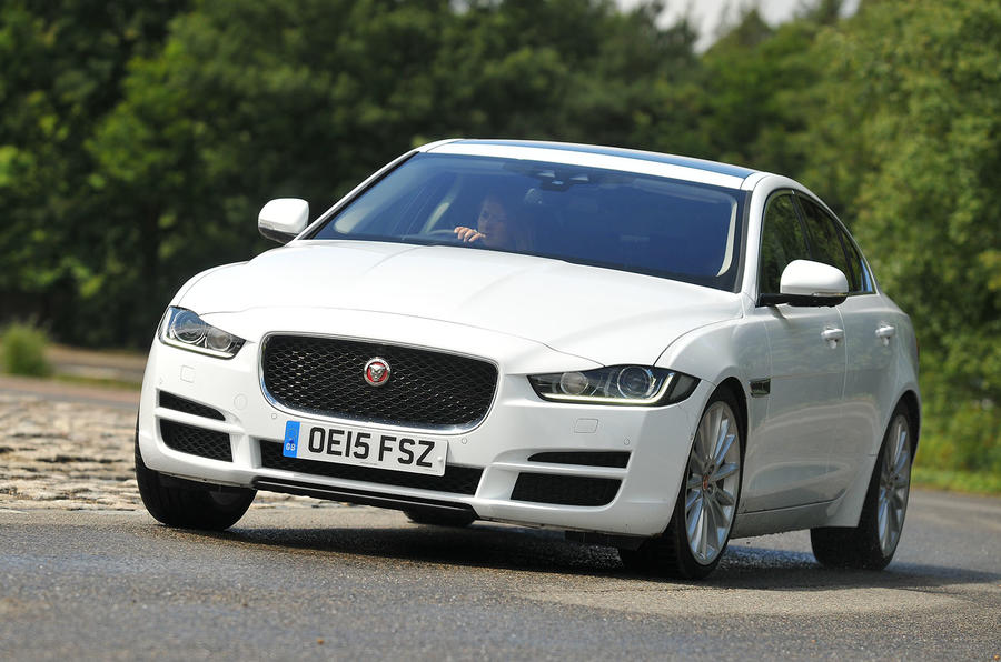 2015 jaguar xe 180 portfolio uk review review autocar. Black Bedroom Furniture Sets. Home Design Ideas