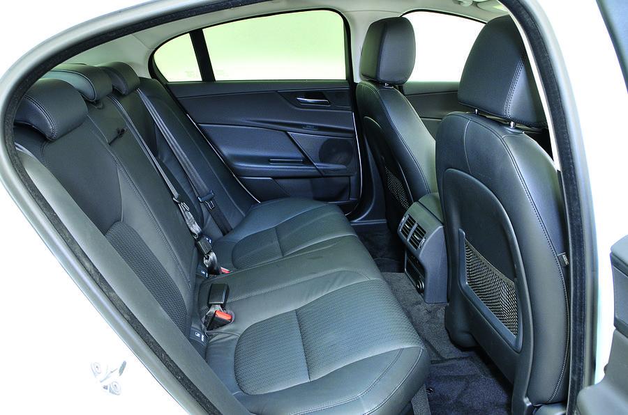 Jaguar XE rear seats