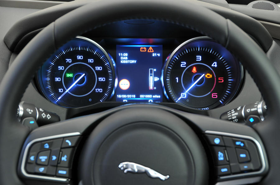 ... Jaguar XE Interior; Jaguar XE Instrument Cluster ...