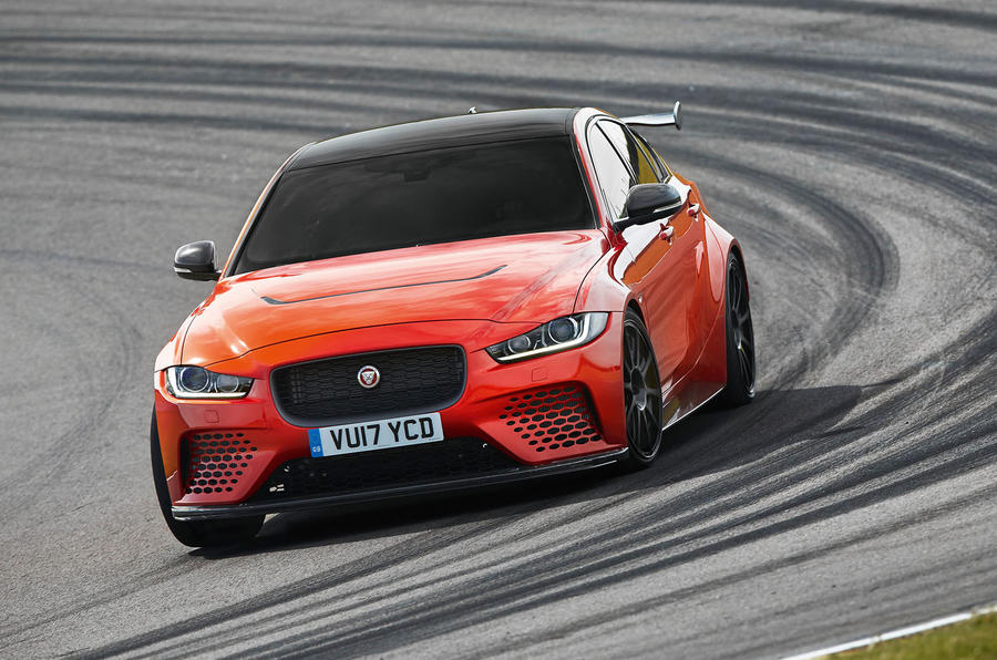 JLR Special Operations' MD on the Jaguar XE SV Project 8