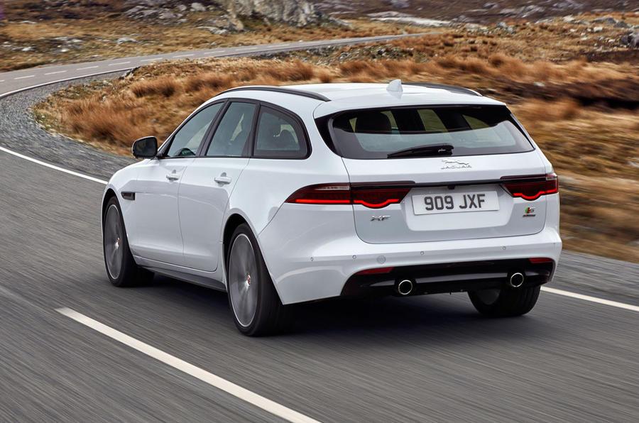 2017 Jaguar XF Sportbrake revealed as new BMW 5 Series Touring