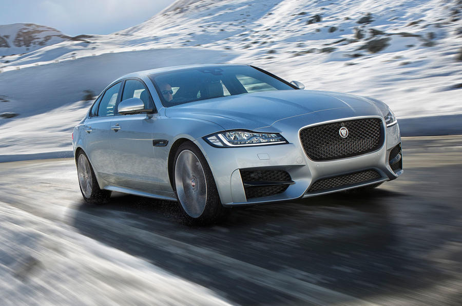 Jaguar XF gets new all-wheel drive option for 2016 | Autocar