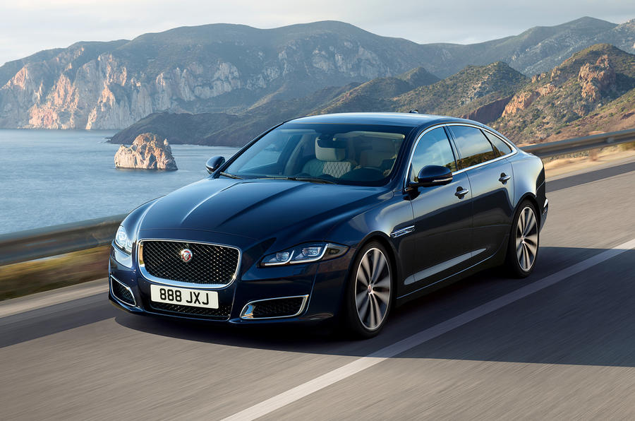 Jaguar XJ50 2018 first drive review - hero front