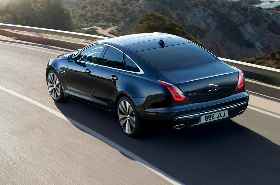 Jaguar XJ50 2018 first drive review - hero rear