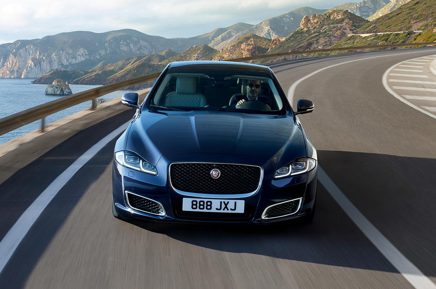 Jaguar XJ50 2018 first drive review - hero nose