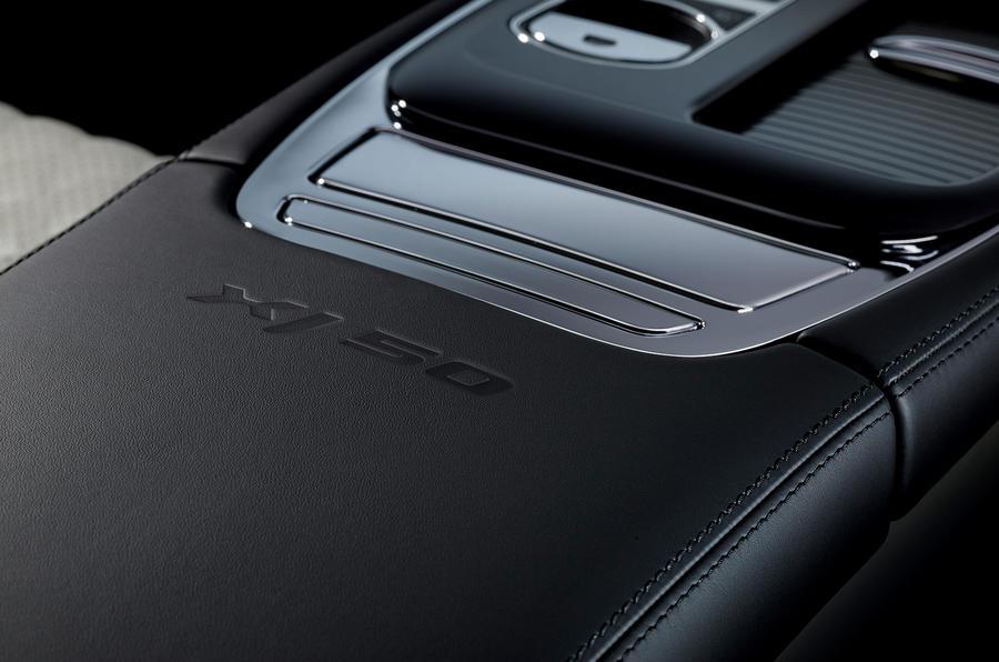 Jaguar XJ50 2018 first drive review - centre console