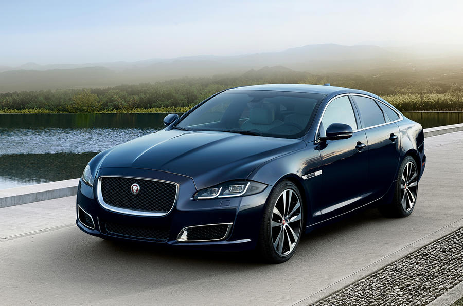Jaguar XJ50 2018 first drive review - static front