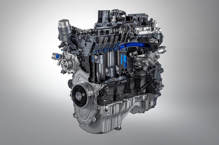 Jaguar 300bhp Ingenium petrol engine