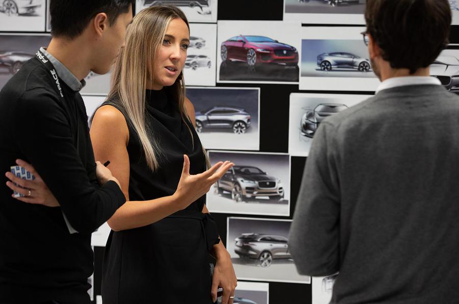 Designers talking