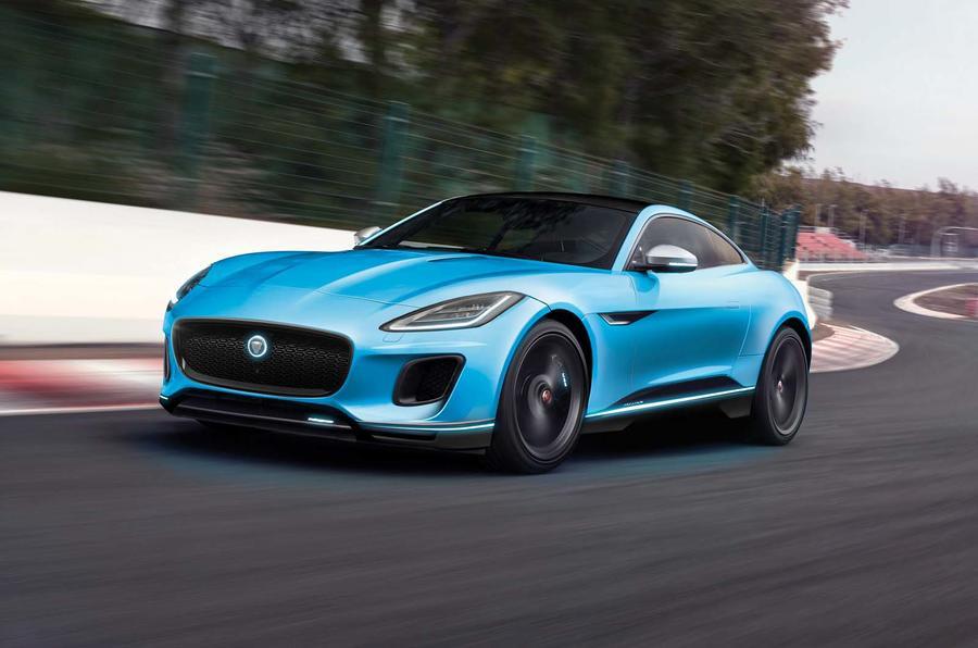 Jaguar F-Type render by Autocar