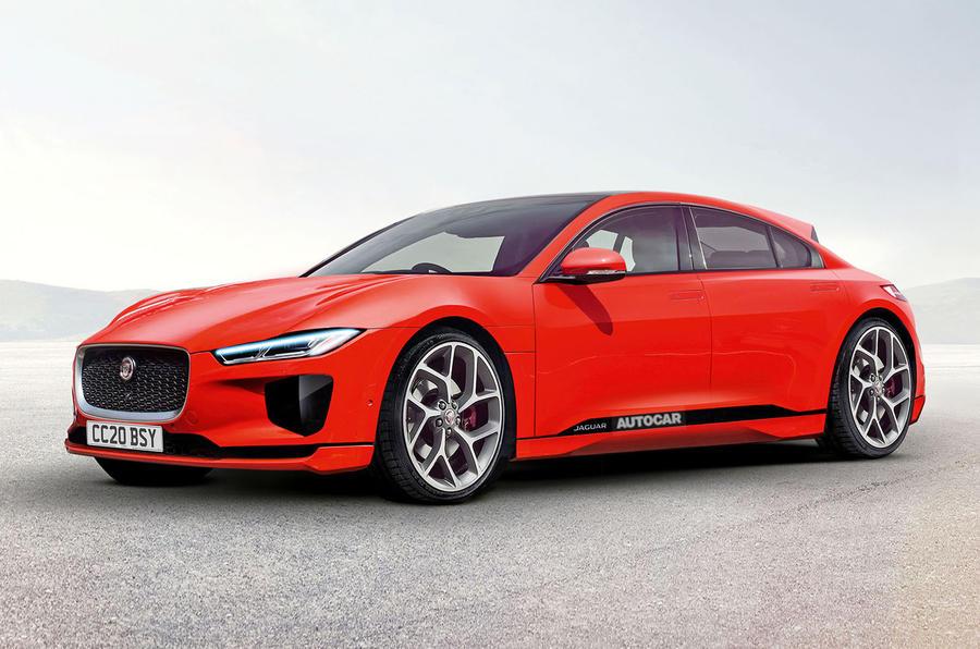 Jaguar electric XE XF replacement