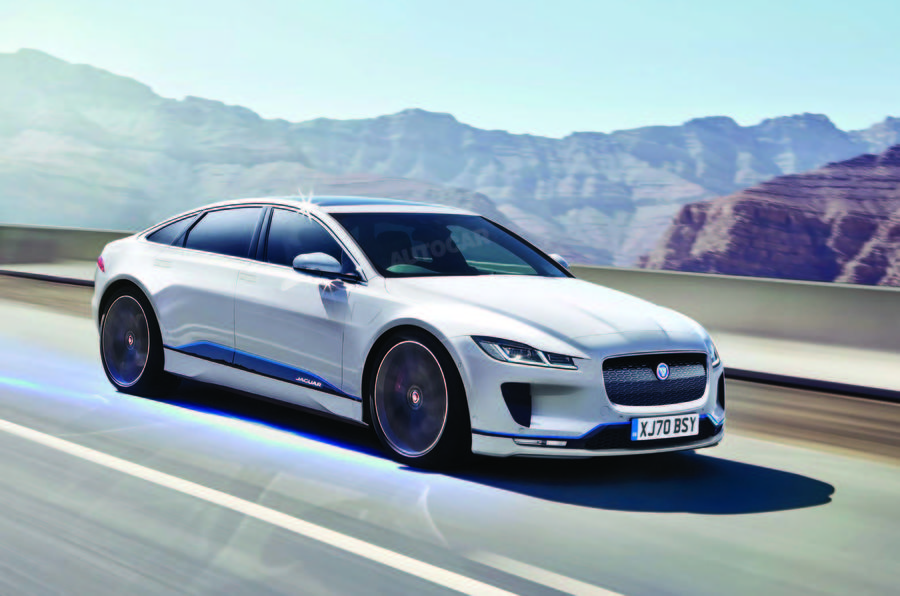 All-electric Jaguar XJ