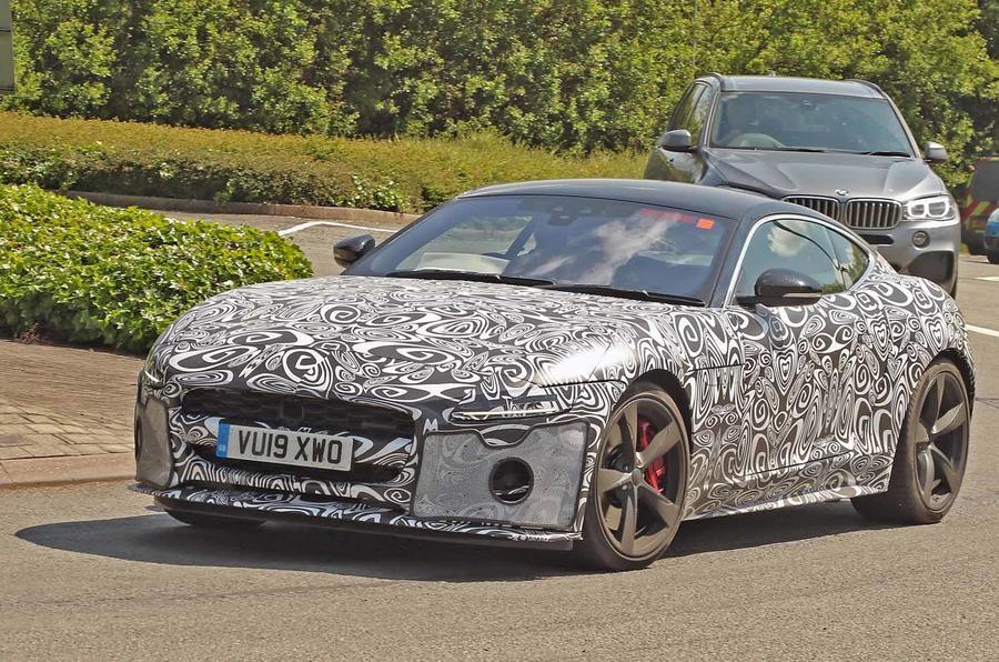 Jaguar F Pace Interior >> Jaguar F-Type to get major overhaul for 2020 model year ...