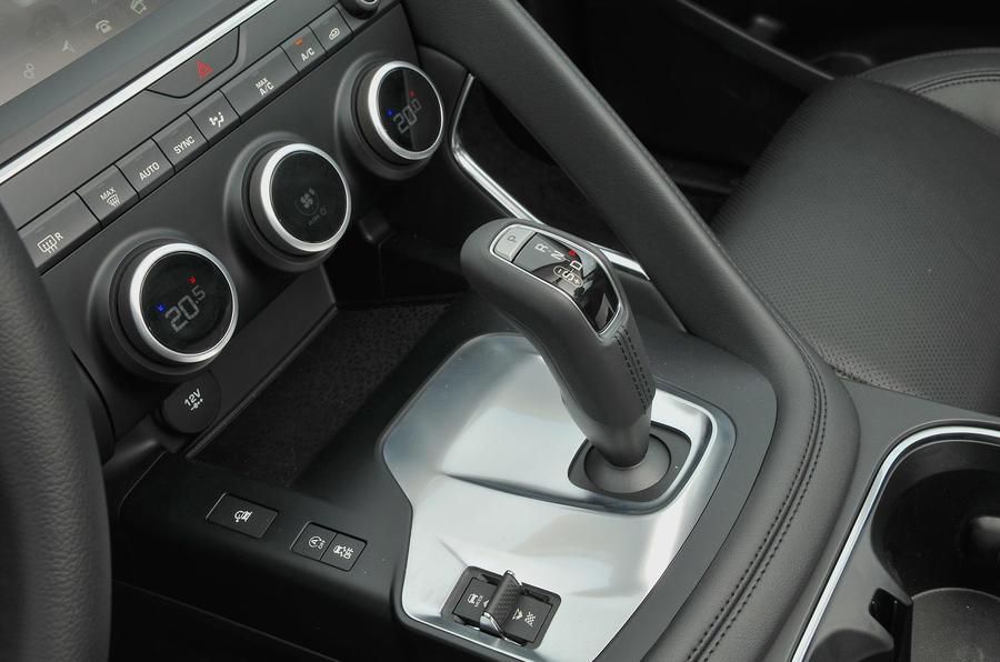 First ride: Jaguar E-Pace centre console
