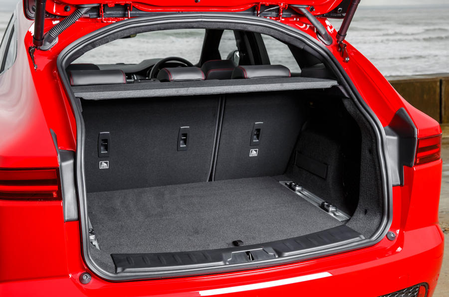 Jaguar E-Pace D180 boot space