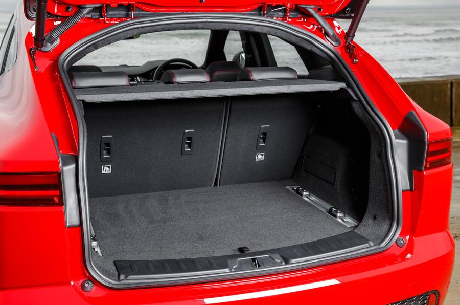 Jaguar E-Pace D180 boot space