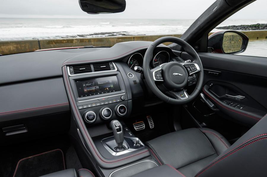 Jaguar E-Pace D180 interior