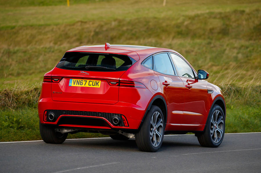 Jaguar E-Pace D180 rear cornering