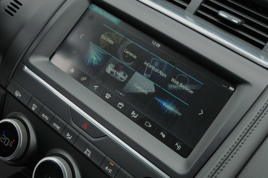 First ride: Jaguar E-Pace infotainment system
