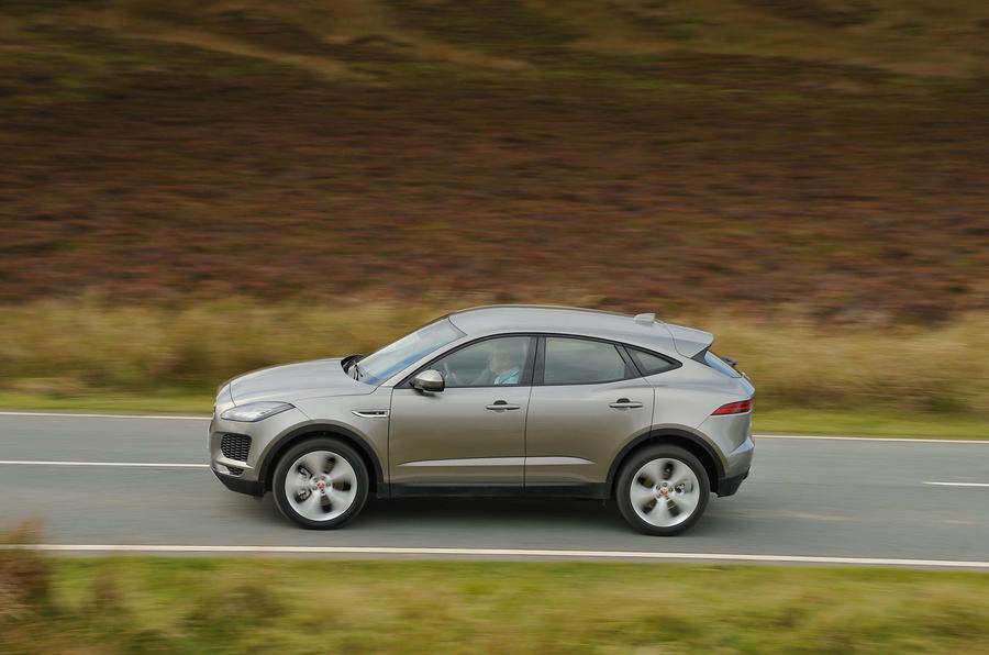 First ride: Jaguar E-Pace on the road