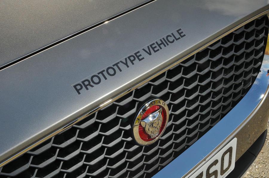 First ride: Jaguar E-Pace prototype vehicle