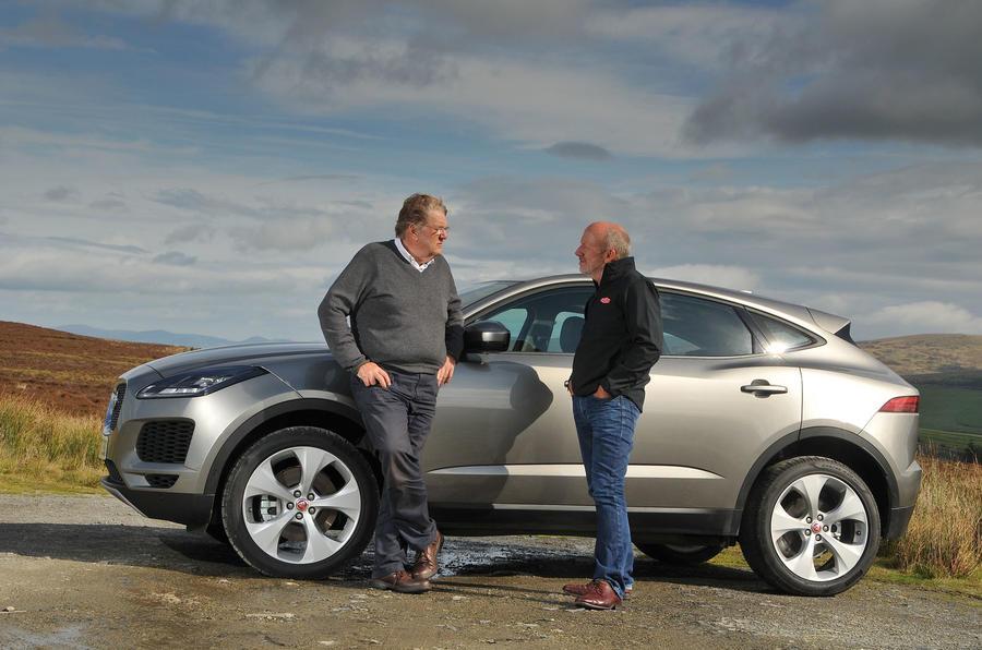 First ride: Jaguar E-Pace talking shop