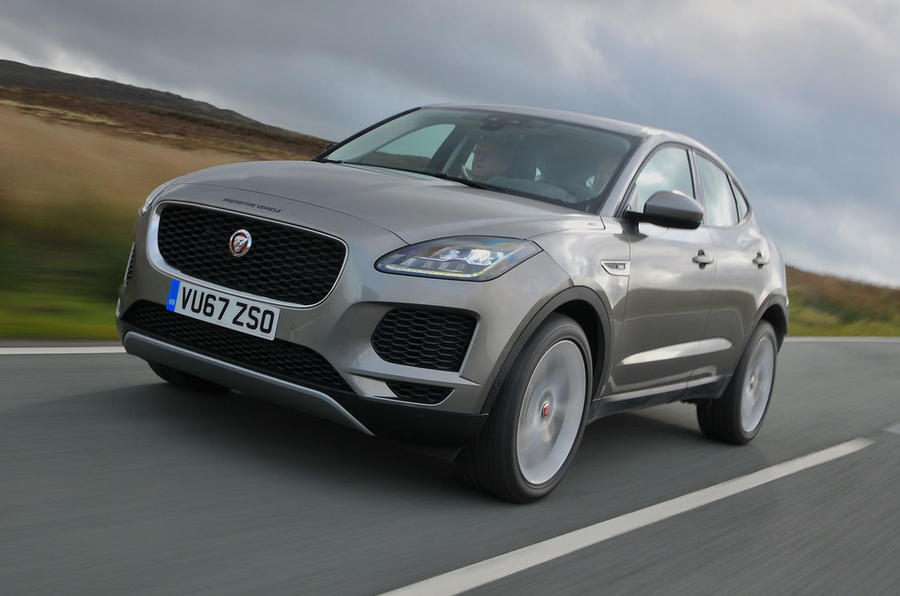 First Ride: Jaguar E Pace ...