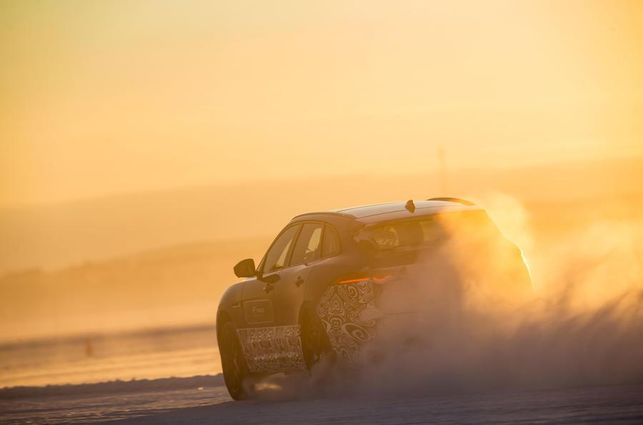 Jaguar F-Pace rear quarter