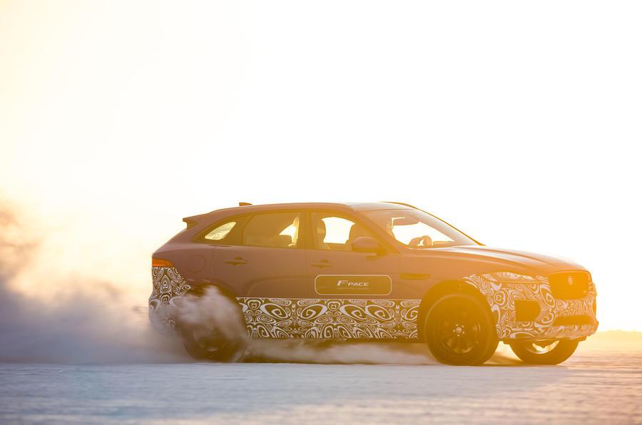 £51,450 Jaguar F-Pace