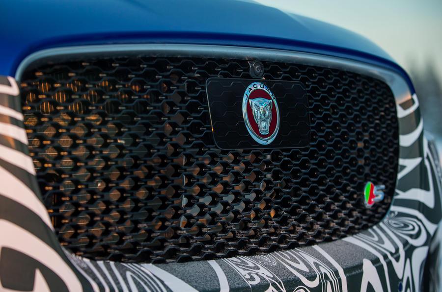 Jaguar F-Pace S front grille
