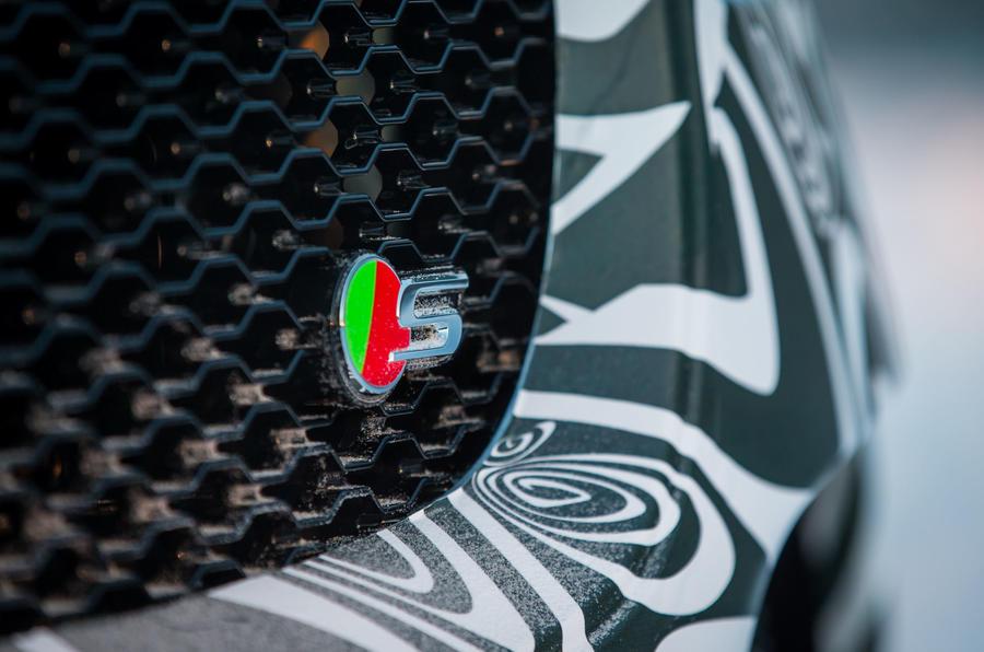 Jaguar F-Pace S badging