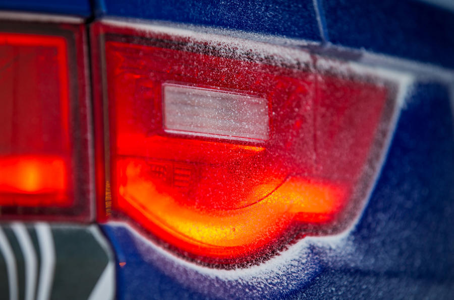 Jaguar F-Pace rear lights