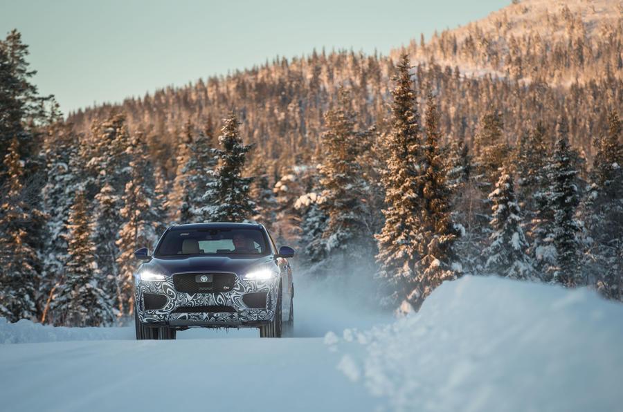 155mph Jaguar F-Pace