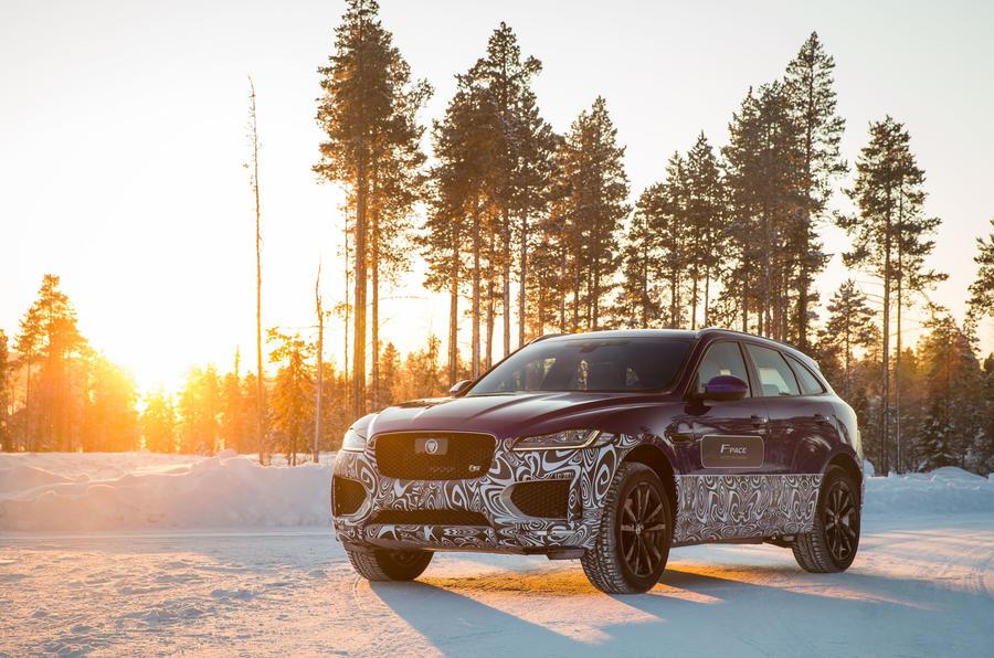 4.5 star Jaguar F-Pace