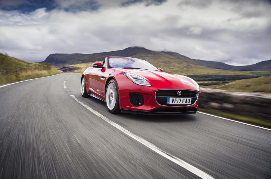 4 star Jaguar F-Type Convertible 2.0 i4