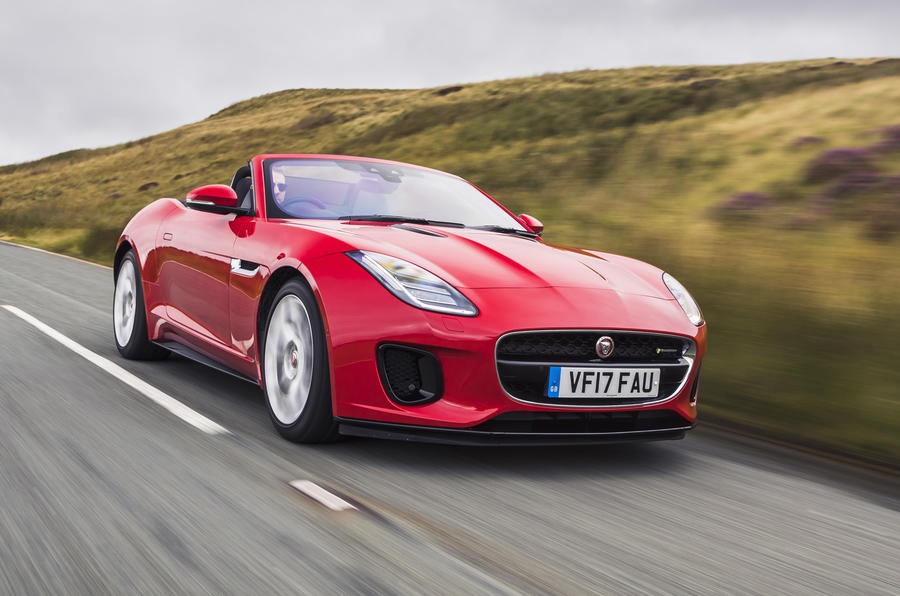 Jaguar F-Type Convertible 2.0 i4