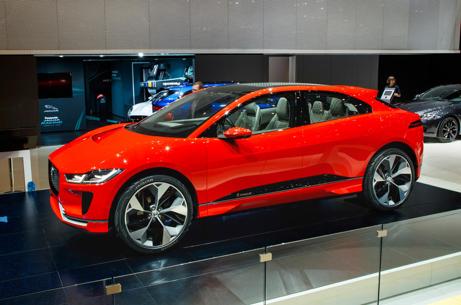 Jaguar I-Pace: first pic of production-spec electric SUV