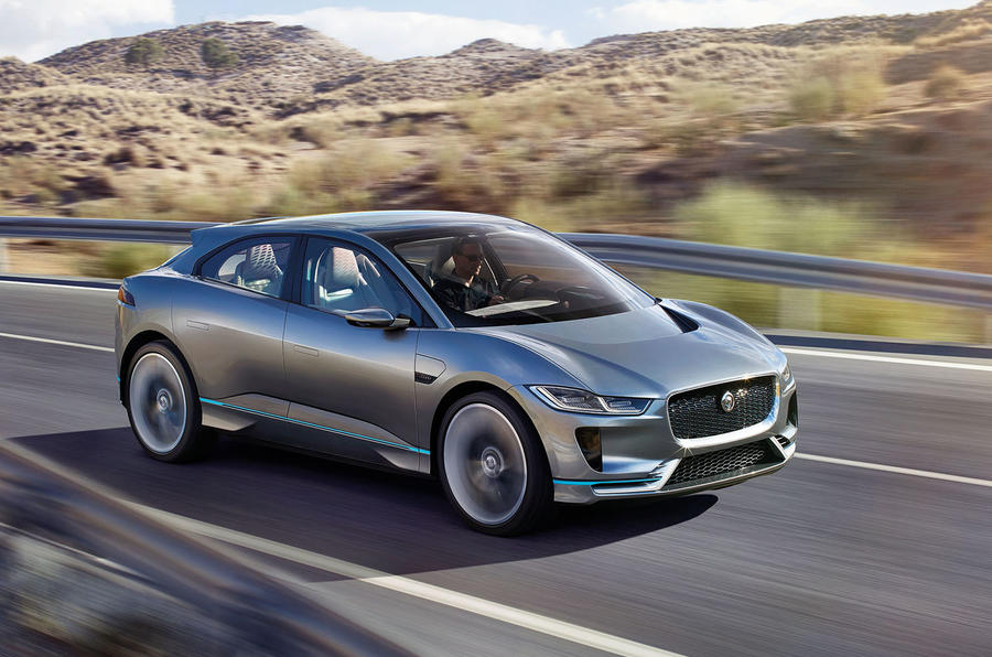 2018 Jaguar I-Pace electric SUV revealed