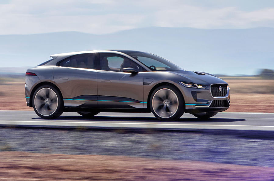 jaguar i pace new video footage shows electric suv in