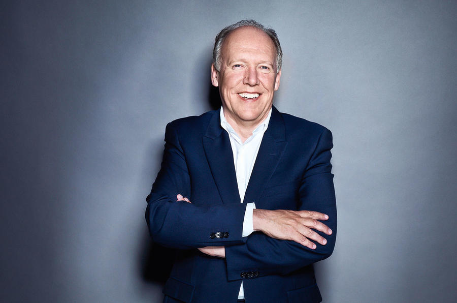 Jaguar's design director, Ian Callum