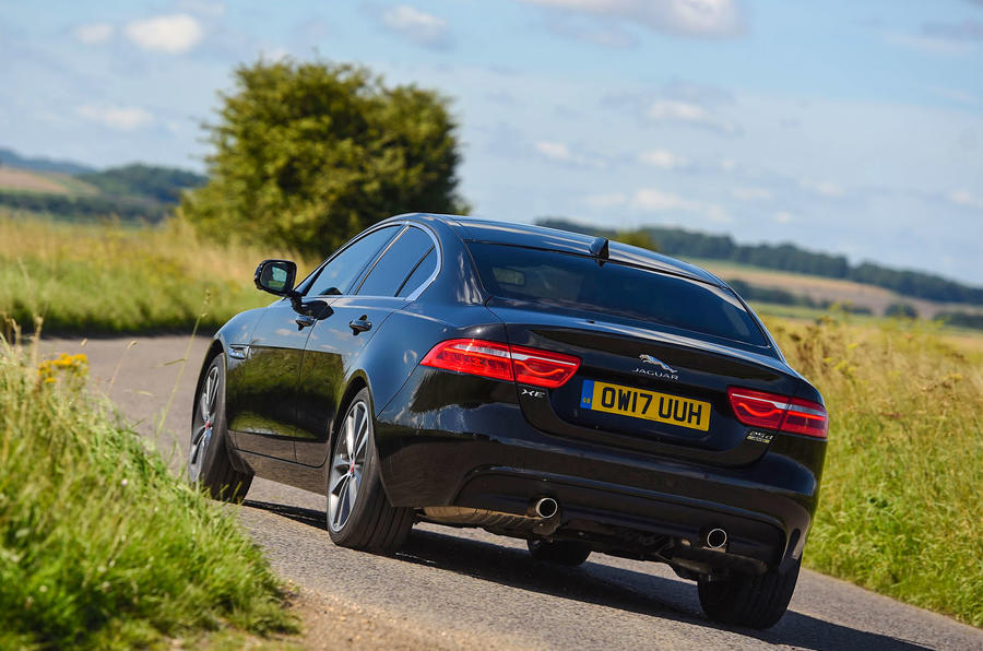 Jaguar XE 25d AWD rear