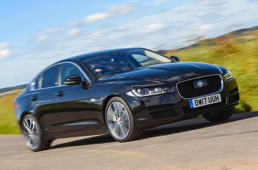 jaguar xe 240 2017 review autocar. Black Bedroom Furniture Sets. Home Design Ideas
