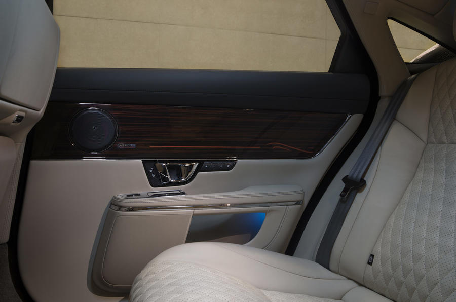 Jaguar XJ door cards