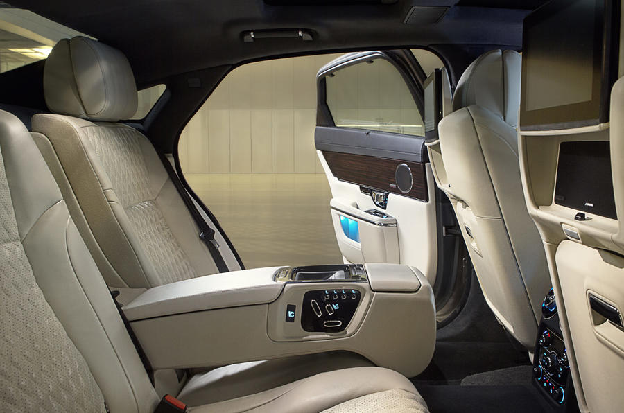 Jaguar XJ rear seats